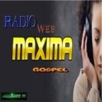 Logo da emissora Rádio Web Máxima