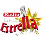 Logo da emissora Radio La Nueva Estrella 98.7 FM