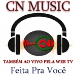Logo da emissora Rádio CN Music