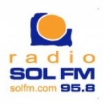 Logo da emissora Radio Sol 95.8 FM