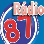 Logo da emissora Rádio Babaçu 87.9 FM