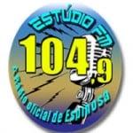 Logo da emissora Rádio Estúdio FM de Espinosa