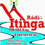Logo da emissora Rádio Itinga FM