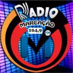 Logo da emissora Rádio Marcação FM