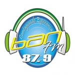 Logo da emissora Rádio Ban 87.9 FM