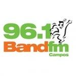 Logo da emissora Rádio Band FM 96.1