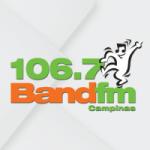 Logo da emissora Rádio Band 106.7 FM