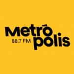 Logo da emissora Rádio Metrópolis 88.7 FM