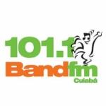 Logo da emissora Rádio Band 101.1 FM Cuiabá