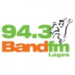 Logo da emissora Rádio Band 94.3 FM