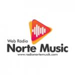 Logo da emissora Rádio Norte Musik