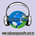 Logo da emissora Rádio Nova Parana FM