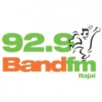 Logo da emissora Rádio Band 92.9 FM