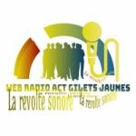 Logo da emissora Radio Act Gilets Jaunes