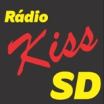 Logo da emissora Rádio Kiss SD