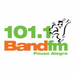 Logo da emissora Rádio Band FM 101.1