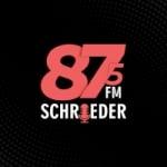 Logo da emissora Rádio Schroeder 87.5 FM