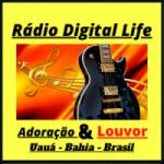Logo da emissora Rádio Digital Life