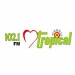 Logo da emissora Radio Corazón Tropical 102.1 FM
