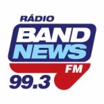 Logo da emissora Rádio BandNews 99.3 FM