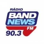 Logo da emissora Rádio BandNews RJ 90.3 FM