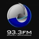 Logo da emissora Rádio 93.3 FM