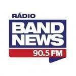 Logo da emissora Rádio BandNews 90.5 FM