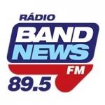 Logo da emissora Rádio BandNews 89.5 FM