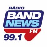 Logo da emissora Rádio BandNews 99.1 FM
