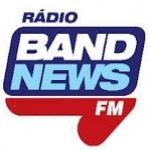 Logo da emissora Rádio BandNews 96.3 FM