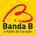 Logo da emissora Rádio Banda B 550 AM 107.1 FM