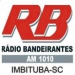 Logo da emissora Rádio Bandeirantes 1010 AM
