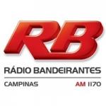 Logo da emissora Rádio Bandeirantes 1170 AM