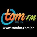 Logo da emissora Rádio Tom 104.3 FM