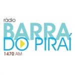 Logo da emissora Rádio Barra do Piraí 1470 AM