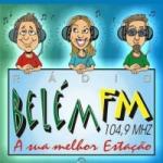 Logo da emissora Rádio Belém 104.9 FM