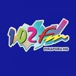Logo da emissora Rádio Bel Rio 102.7 FM
