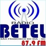 Logo da emissora Rádio Betel 87.9 FM