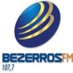 Logo da emissora Rádio Bezerros 107.7 FM