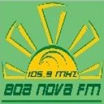Logo da emissora Rádio Boa Nova 105.9 FM