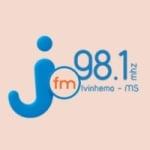 Logo da emissora Rádio Piravevê Jota FM 98.1