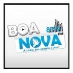 Logo da emissora Rádio Boa Nova 87.9 FM