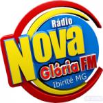Logo da emissora Rádio Nova Glória FM