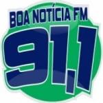 Logo da emissora Rádio Boa Notícia 91.1 FM
