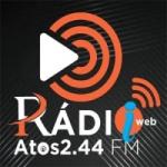 Logo da emissora Rádio Web Atos 2.44 FM