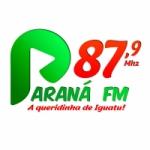 Logo da emissora Paraná FM