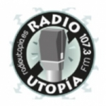 Logo da emissora Radio Utopia 107.3 FM