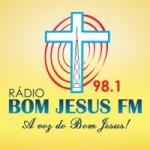 Logo da emissora Rádio Bom Jesus 98.1 FM