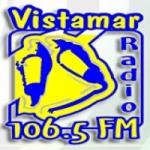 Logo da emissora Radio Vistamar 106.8 FM