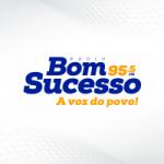 Logo da emissora Rádio Bom Sucesso 95.5 FM